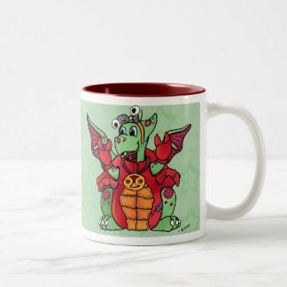 Cancer mug cute baby dragon zodiac