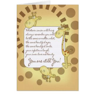 Cancer Patient Encouragement Card