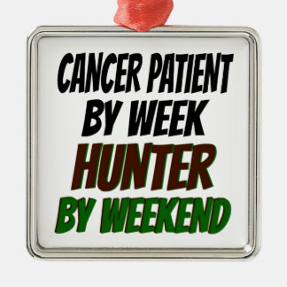Cancer Patient Hunter Christmas Ornament