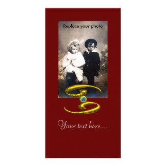 CANCER PERSONALIZED PHOTO CARD