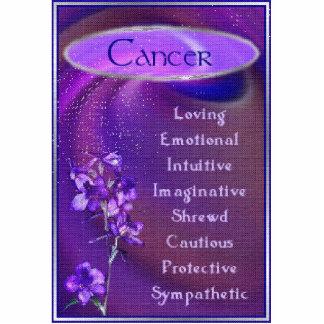 Cancer Photo Sculpture Badge
