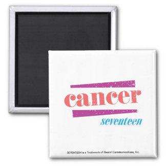 Cancer Pink Fridge Magnet