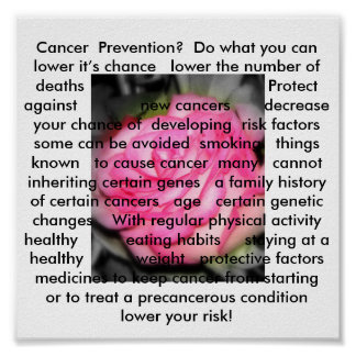 Cancer  Prevention Poster