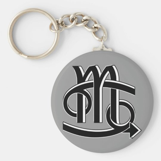 Cancer & Scorpio Partners bw Key Ring