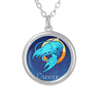 Cancer Silver Plated Necklace