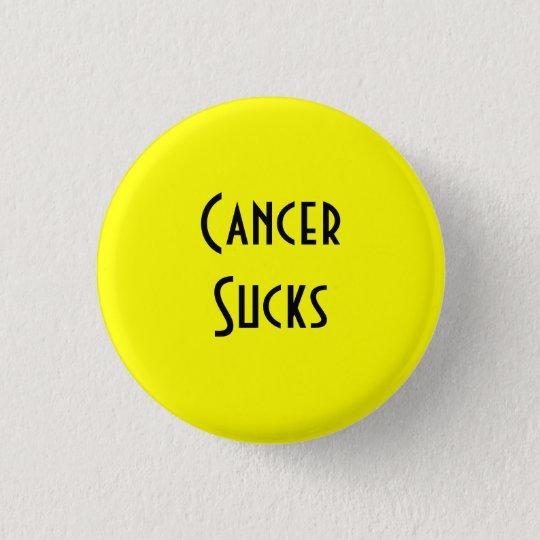 Cancer Sucks: Bladder, Sarcoma/Bone Cancer 3 Cm Round Badge