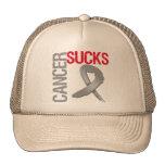 Cancer Sucks - Brain Cancer Cap