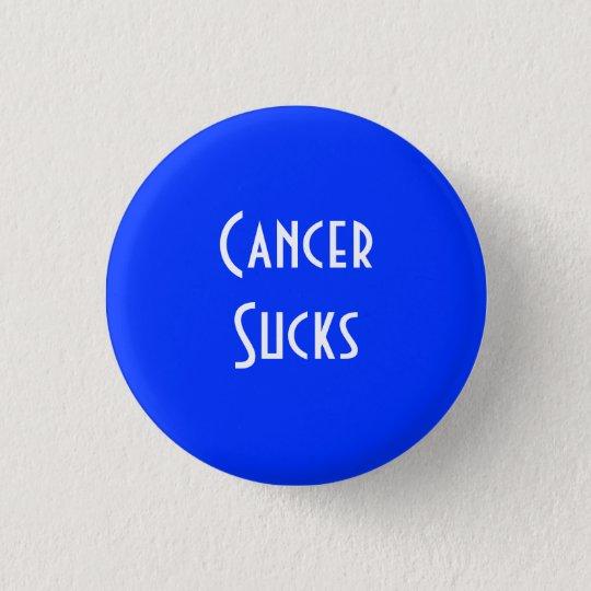 Cancer Sucks: Colon Cancer 3 Cm Round Badge