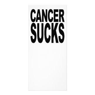 Cancer Sucks Full Color Rack Card