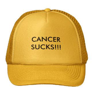 CANCER SUCKS!!! MESH HATS