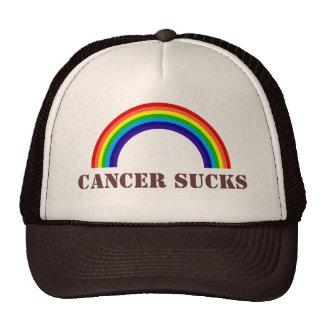 CANCER SUCKS (hat) Cap