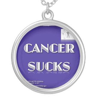 CANCER SUCKS NECKLACE