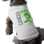 Cancer Sucks - Non-Hodgkin's Lymphoma Pet T Shirt