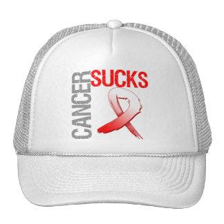 Cancer Sucks - Oral Cancer Trucker Hat