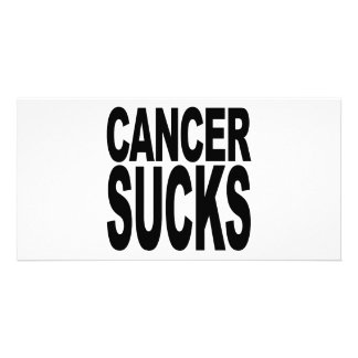 Cancer Sucks Photo Cards