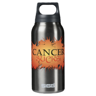 Cancer Sucks 10 Oz Insulated SIGG Thermos Water Bottle