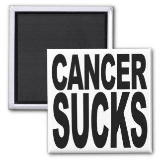 Cancer Sucks Square Magnet