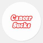 Cancer Sucks Stickers