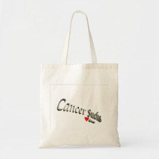 Cancer Sucks Tote Canvas Bags