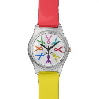 Cancer Sucks Wrist Watches