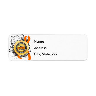 Cancer Survivor 23 Kidney Cancer Return Address Label