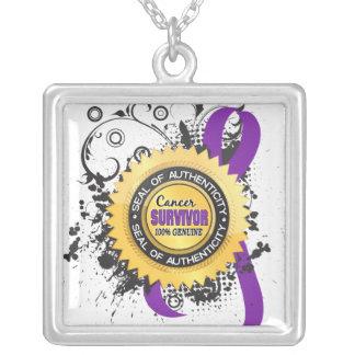 Cancer Survivor 23 Leiomyosarcoma Custom Necklace