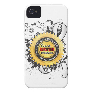 Cancer Survivor 23 Lung Cancer Case-Mate iPhone 4 Cases