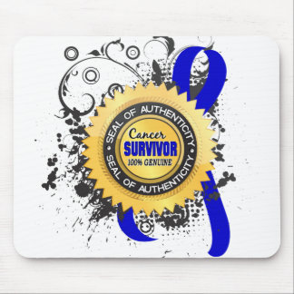 Cancer Survivor 23 Rectal Cancer Mouse Pad