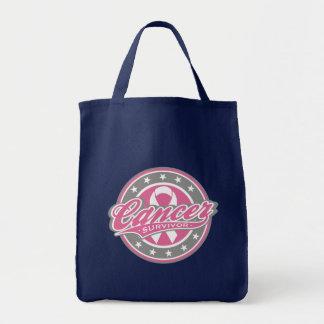 Cancer Survivor - Breast Cancer Tote Bags