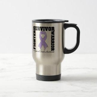 CANCER Survivor Fighter Warrior Coffee Mug