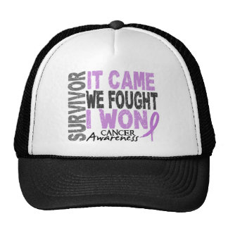 Cancer Survivor It Came We Fought I Won Cap