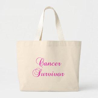 Cancer Survivor Jumbo Tote Bag