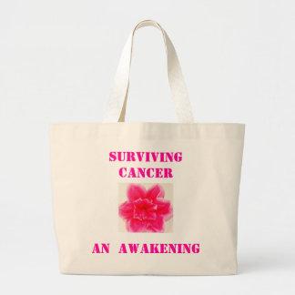 cancer Survivor large shopping bag