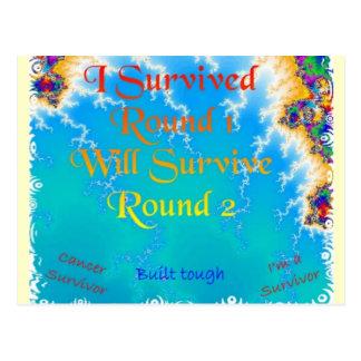 Cancer Survivor Postcard