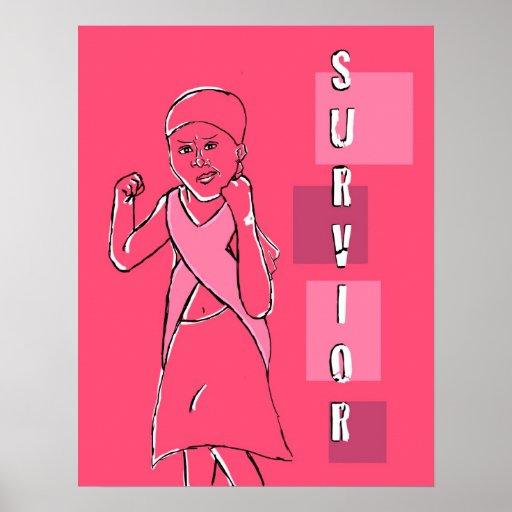 cancer survivor print