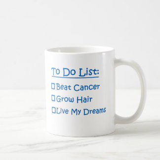 Cancer Survivor To Do List Coffee Mug