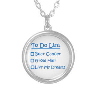 Cancer Survivor To Do List Personalized Necklace