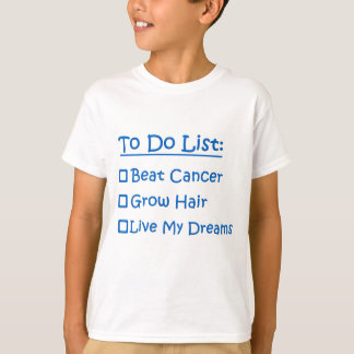 Cancer Survivor To Do List T-Shirt