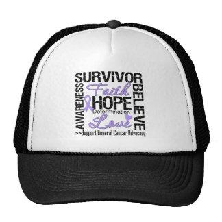 Cancer Survivors Motto Hats