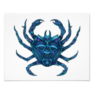 Cancer Symbol Art Photo