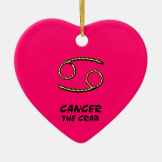 Cancer the crab ornament