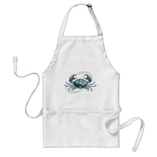 Cancer the crab star or or birth sign or zodiac apron