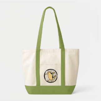 Cancer the crab tote bag