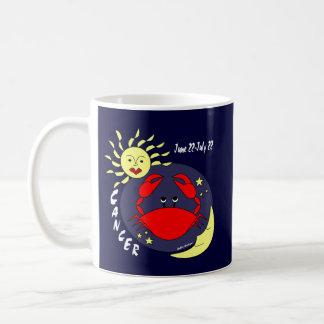 Cancer the Crab Zodiac Sign Coffee Mug