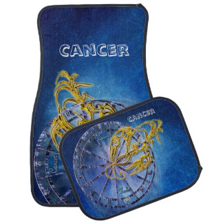 Cancer Zodiac Astrology design Horoscope Car Mat