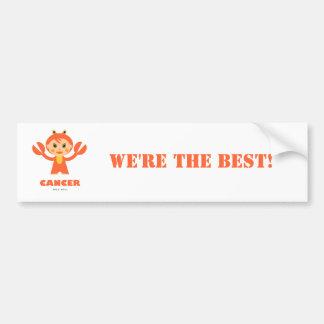 Cancer Zodiac for kids Car Bumper Sticker