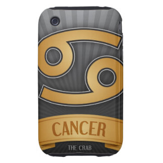 Cancer Zodiac iPhone 3 Case