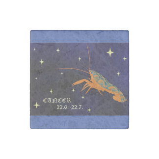 Cancer Zodiac Marble Magnet