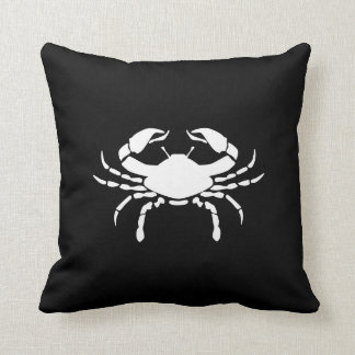 Cancer Zodiac Pictogram Throw Pillow