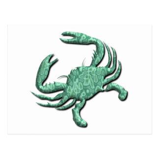 Cancer Zodiac Postcard